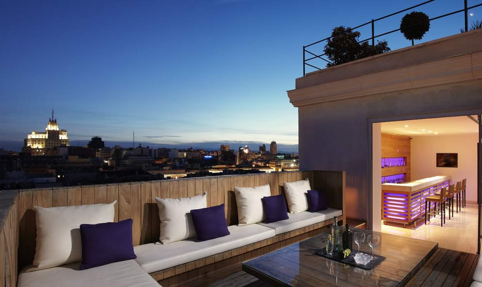 Terraza Chillout en Madrid