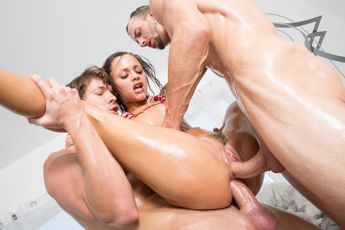 La doble penetració en el cinema porno