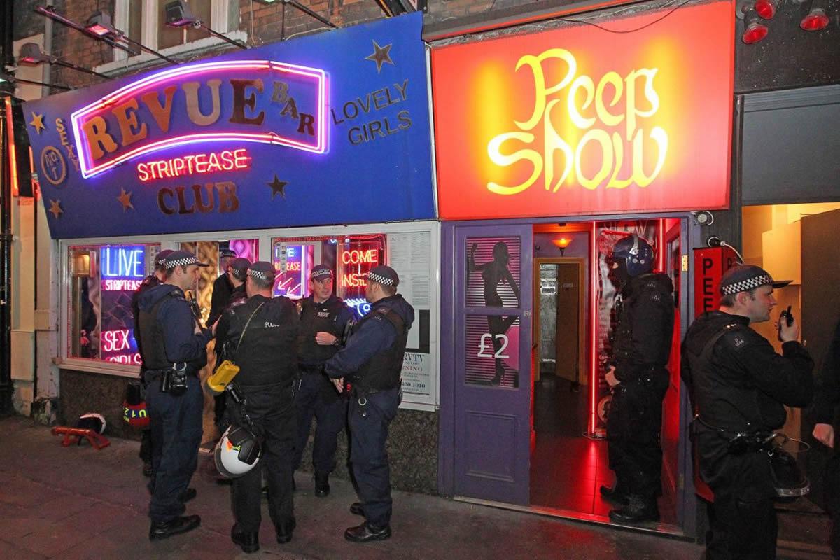 Prostitución en Londres